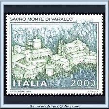 1986 Italia Repubblica Sacro Monte Varallo n. 1770 **