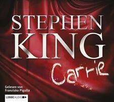 "Preisalarm! HORROR HÖRBUCH auf 2 MP3 CDs Stephen King ""CARRIE"" * NEU & OVP"