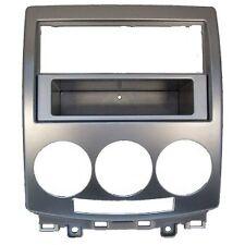 Mascherina MAZDA 5 autoradio Doppio 2 Din MAZDA5 M5 Silver dal 2006 al 2010