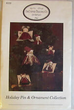 Decuyper Trading Co Holiday Pin & Ornament Collection Vintage Doll Pattern