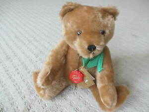 HERMAN Teddy Original Jointed 14 In Mohair Teddy Bear with Original Tags 35/62 *