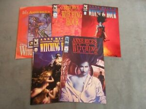 Anne Rice's the Witching Hour 1-5 Lot complete series JOHN BOLTON set #1 2 3 4 5