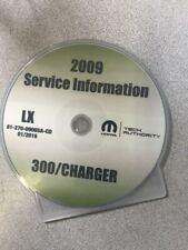 2009 CHRYSLER 300 Dodge Charger Service Shop Repair Workshop Manual CD