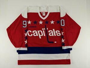 Circa 1993-94 Joe Juneau Washington Capitals GAME ISSUED Hockey Jersey