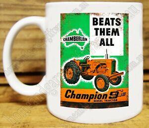 300ml COFFEE MUG - THE CHAMBERLAIN CHAMPION 9G TRACTOR