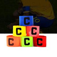 del jugador brazalete Capitán del equipo de fútbol Flexible Football badge Band
