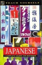 Japanese (Teach Yourself), Kaiser, S. K., Ballhatchet, H. J., 0844238074, Book,