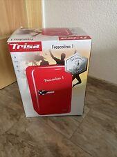 Trisa Frescolino 1 Kühlschrank EEK: A+  17 l Standgerät Retro Rot