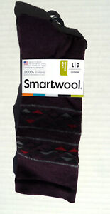 New Men`s SmartWool Lincoln Trail Crew Socks Merino Wool SW003835587