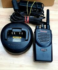 Motorola Mag One BPR40 Two-Way Radio 8 Channels UHF + Charger AAH84RCS8AA1AN