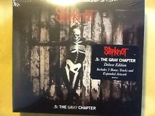 SLIPKNOT.     2 CDs.      5 :  THE. GRAY. CHAPTER.     DELUXE. EDITION.