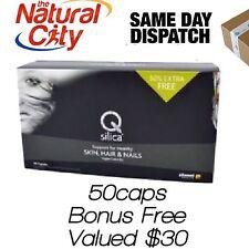 Qsilica Colloidal Silica 150caps  -Same Day Dispatch for Hair Skin Nail