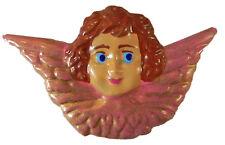 Mexican Tin Angel Magnet Ornament  Metal Art