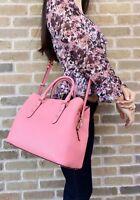 Kate Spade Larchmont Avenue Evangelie Satchel Bag Crossbody Coral Pink