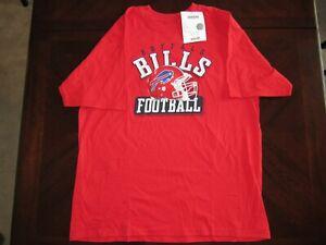 NFL Reebok T-shirt  Buffalo Bills football size large