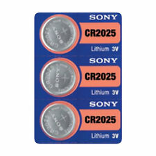 3 SONY CR2025 DL2025 CMOS Lithium 3V Watch Battery Exp 2025 Ships FREE from USA!