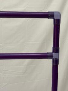 """Portable Travel Dip/Pushup/L-Sit/Hand Stand/Parallette Bar COLORS SMALL 6"""""""
