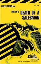 Cliffs Notes Arthur Miller Death of a Salesman School Study Manual Book PB