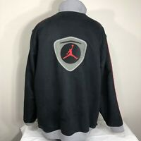 VTG Nike Jacket OG Air Jordan XIV 14 Flight 2XL 90s Team Coat Logo Swoosh Retro