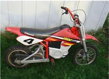 Used Razor Mx500 Dirt Rocket Electric Motorcycle Bike (Battery Not Working)