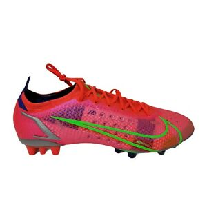 Nike Men's Mercurial Vapor 14 Elite AG CZ8717-601 Cleats Size 13 Bright Crimson