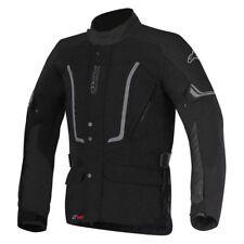 Alpinestars Vence Drystar Motorcycle Bike Waterproof Textile Jacket - Black - XL