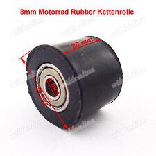 8mm Kettenrolle Motorrad Rubber für Pit Pro Trail TTR Dirt Bike