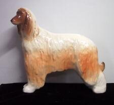 Lomonosov Russian Afghan Hound Porcelain Figurine