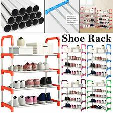 4 niveles de metal Soporte Organizador de Almacenamiento de Información zapato rack estante Organizador Soporte Portátil