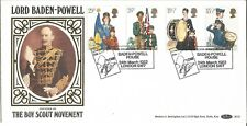Boy Scout Movement Benham Official FDC 1982 BLS2 London SW7 Postmark Z1590