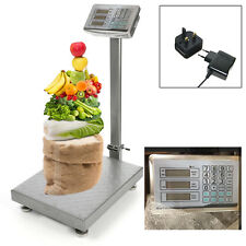 Industrial Platform Digital Postal Parcel Weighing Heavy Duty 660LB 300KG Scales
