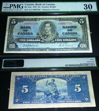 1937 Osborne Towers $5 Bank of Canada PMG 30