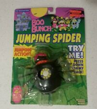 Trendmasters Halloween BOO BUNCH JUMPING SPIDER Works ON CARD 1993 Action Figure