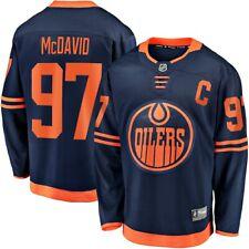 Мужские Edmonton Oilers Коннор McDavid Navy альтернативный премьер отсоединяемый Джерси