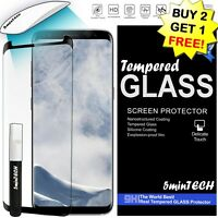 ✔ Tempered Glass Screen Protector HD Premium FOR SAMSUNG GALAXY S9/S8/S7 & Plus