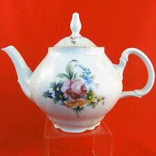 """SONATA by Bernadotte Czech dinnerware Tea Pot 7"""" tall NEW NEVER USED"""