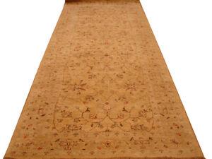 4 x 10 ft Gold Chobi Peshawar Honey Antiqued Pale 49 x 121 in Runner