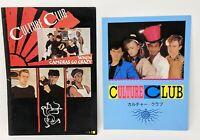 Culture Club Concert Program 1983  Boy George  When Cameras Go Crazy Tour