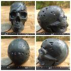 "2.0"" Camouflage Jasper Skull Carved 99.8g 3.5oz Crystal Camo Poppy Realistic"