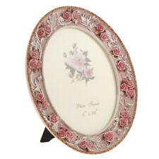 Vintage Rose Flower Photo Frame Home Table Display Decor Wedding Party Gift