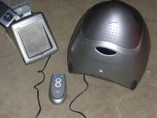 Sharper Image Wireless Indoor/Outdoor Amplified Speaker w/Transmitter & Remote++