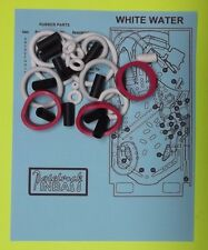 1992 Williams White Water pinball rubber ring kit