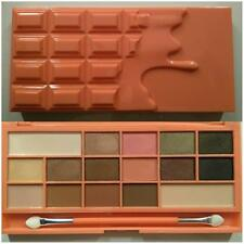 MakeUp Revolution I Heart Makeup Chocolate & Peaches Eyeshadow Palette Bnib