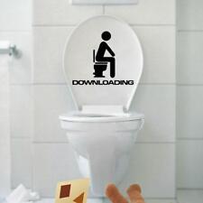 Amovible Sticker Autocollant de Toilette Décoration pour Toilettes Salle de Bain