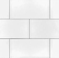 White 3x6 Shiny Glossy Ceramic Subway Tile Backsplash Wall Floor KITCHEN or BATH