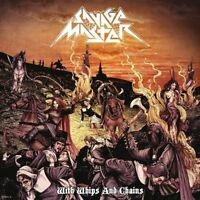 SAVAGE MASTER - WITH WHIPS AND CHAINS (LIMITED.COLOURED VINYL)  VINYL LP NEW+