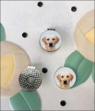 Labrador Retriever Golf Ball Marker/Hat Clip - New - FREE SHIPPING