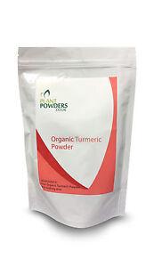 *PURE ORGANIC* Turmeric POWDER - Highest Quality! UK SELLER!