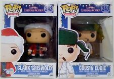 "CLARK GRISWOLD COUSIN EDDIE Christmas Vacation Pop Movies 4"" Vinyl Figures 2017"