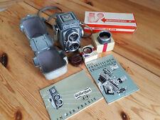Rolleiflex 4x4 con accesorios